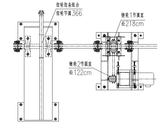 通过速比计算确定电机的转速设计案例