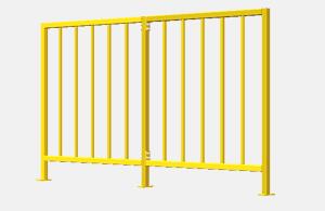 用方管制作安全栏杆的设计